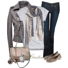 spot scarf, created by gustinz.polyvore.com