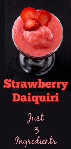 I am a Strawberry Daiquiri Bartender! I love my strawberry Daiquiri's and Whip up several them for all my guests in the month of July - Here in Virgin Strawberry Daquiri Recipe, Frozen Strawberry Daiquiri, Strawberry Recipes, Virgin Cocktail Recipes, Virgin Cocktails, Daiquiri Cocktail, Alcohol Drink Recipes, Yummy Drinks, Dessert Recipes