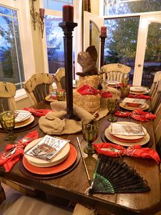 Trisa & Co. Designs & Events: Western Murder Mystery Dinner Party