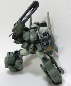 MG 1/100 Zaku II Ver. 2.0 - Custom Build - Gundam Kits Collection News and Reviews