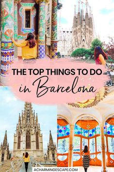 The Top Things to do in Barcelona - Travel Guide Barcelona Travel Guide, Spain Travel Guide, Europe Travel Tips, European Travel, Travel Guides, Barcelona Trip, Travel List, Travel Advice, Travel Destinations