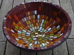Mosaic Bowl Tutorial