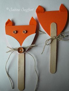 A 7 # foxes # ice cream sticks – Invitation 2020 Kindergarten Art Projects, Craft Projects, Diy For Kids, Crafts For Kids, Diy Wedding Bouquet, Disco Party, Birthday Crafts, Fall Crafts, Birthday Invitations
