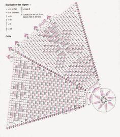 Crocheted scheme no. 386 | Kira crochet