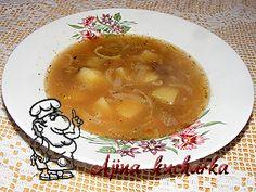 Ajina kuchařka - Cibulačka s bramborem