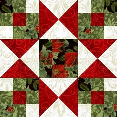 I am either late, or very early. You choose. Regardless, this week, I played with the Star Crossed Christmas quilt block from Nancy Martin's Perpetual Calendar. The block is drawn from a 9 x… Christmas Blocks, Christmas Quilt Patterns, Star Quilt Patterns, Star Quilts, Pattern Blocks, Christmas Quilting, Christmas Trees, Scrappy Quilts, Quilting Ideas