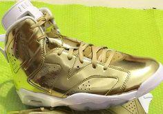 on sale e1a47 2b1e7 sneakers news The Air Jordan 6 Pinnacle Goes Full Gold White Jordans, Nike