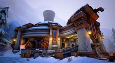 ArtStation - Dwarven Tavern, Loren Broach