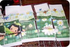 Cheap nursery wall art.  I have been using this idea for the nursery.  It is truly brilliant!
