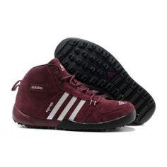Billige Adidas Daroga Two Læder Mid Mørkrød Hvid Herre Skobutik   Fantastisk Adidas Daroga Two Læder Mid Skobutik   Adidas Skobutik Online   denmarksko.com