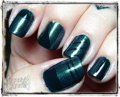 Gnarly Gnails: Teal Tuesdays - Monochrome