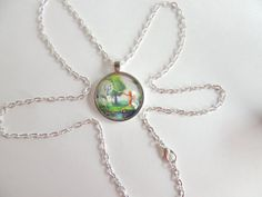 Mermaid Necklace Unicorn Necklace Fantasy by AllAboutPendants77, $14.00