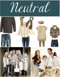 What to wear for fall family photos- neutral color palette Tips and tricks for gorgeous fall family pictures. Get the best Fall family photo ideas including location, pose and prop ideas PLUS a free printable! Fall Family Picture Outfits, Family Portrait Outfits, Family Pictures What To Wear, Family Picture Colors, Winter Family Photos, Family Outfits, Family Posing, Fall Photos, Family Pics