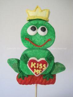 Frog Prince Marshmallow Pop