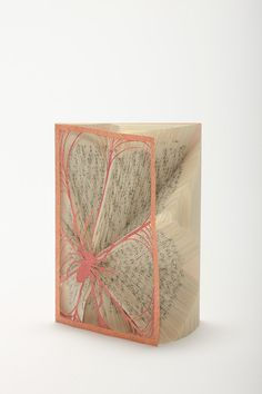 Altered books by Tomoko Takeda