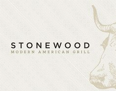 """Check out new work on my @Behance portfolio: """"STONEWOOD MODERN AMERICAN GRILL"""" http://on.be.net/1JYULV4"""