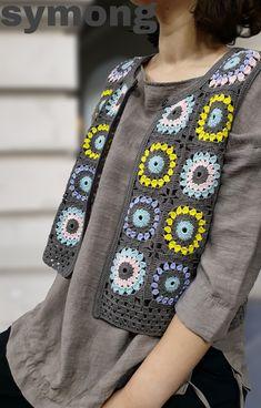 Crochet Pillow Pattern, Crochet Cardigan Pattern, Granny Square Crochet Pattern, Vest Pattern, Crochet Shawl, Crochet Cord, Crochet Boots, Crochet Clothes, Baby Knitting Patterns