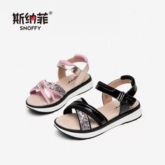 image Baby Girl Sandals, Kids Sandals, Baby Girl Shoes, Women's Shoes Sandals, Shoe Boots, Kids Dress Shoes, Kid Shoes, Me Too Shoes, Cute Baby Shoes