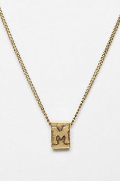 Build-A-Word Necklace  #UrbanOutfitters