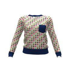 Hey June Handmade Lane Raglan made with Spoonflower designs on Sprout Patterns…