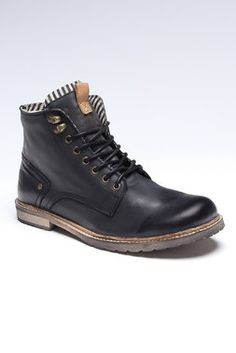 Fine Leather Boots by Sneaky Steve