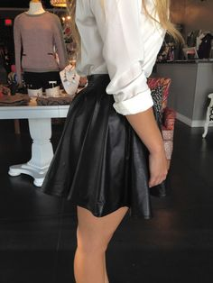 Fall Fashion Trend!! Leather!