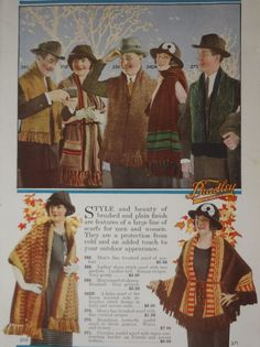 1922 Bradley Knits: Slip Into a Bradley and Out-of-Doors | The Vintage Traveler