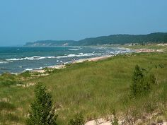 Ludington, Michigan.  Reasons to LOVE Ludington: 1. The State Park  2. House of Flavors  3.  Easygoing community  4. Red Door Pottery and Studios  5. Vibrant neighborhoods  6.  Did I mention the beach?  7.  Neat antiques  8.  Ludington Center for the Arts  9.  Easy to navigate  10.  Great biking trails