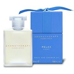 Aromatherapy Associates Light Relax Bath & Shower Oil-1.86 oz. by Aromatherapy Associates. $56.00. This oil allows you to relax after everyday stresses or a busy lifestyle.. Give Stress The Pink Slip This exceedingly effective and powerful blend of lavender, ylang ylang and petitgrain therapeutic oils helps tired, overworked bodies unwind. Blended for gentle relaxation to help combat daily stresses due to a busy lifestyle, to relieve tension headaches and to uplift th...