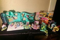 Mega Huge Lot of Hasbro Littlest Pet Shop Pets, houses and Accessories #Hasbro