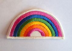 Rainbow - 1970's New Vintage Patch Applique
