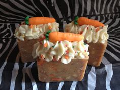 Carrot Cake Soap Bars - Vegan They smell DELISH!!!