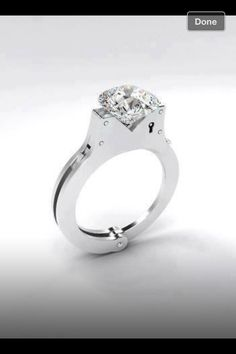Cool ring for a police office or wife of one :) I asked my girlfriend if I could get this ring for her. She said no.