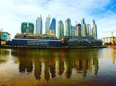Puerto Madero #buenosaires #argentina @olloclip #skyline #city #landscape #rio