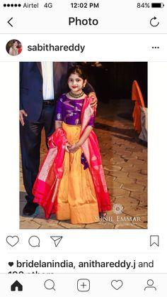Indian Girl Fashion, Lehenga / Ghagra