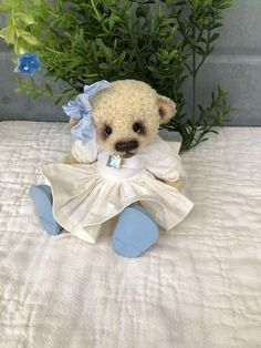 Rarity Jumpsuit miniature handmade for approx 7-8 CM cm Bear or Puppy