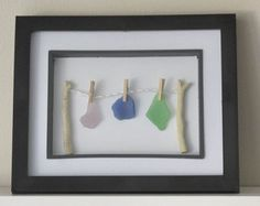 Vêtements Sea Glass Art Art de la corde à par sourisbytheseaglass