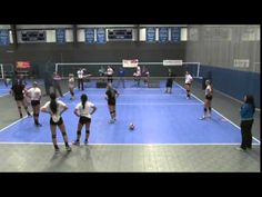 Rapid-Fire Drill for Digging Balls! - Volleyball a Rapid-Fire Drill for Digging Balls! - Volleyball 2015 Click the link below to read the article: Volleyball Warm Ups, Volleyball Passing Drills, Volleyball Skills, Volleyball Practice, Volleyball Training, Volleyball Workouts, Coaching Volleyball, Volleyball Players, Beach Volleyball