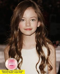 The young starlet looked so pretty with her hair softly curled and her cheeks rosy—here's how to recreate the look!