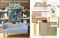 Dear Diary, Home Accents Today featured our GOBI chair at #HPMkt in its #awesome magazine, stoked! #design