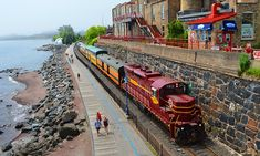 North Shore Scenic Railroad - Duluth: The Duluth Zephyr Excursion Train Ride at North Shore Scenic Railroad (Up to 55% Off). Six Options Available