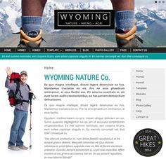Wyoming Nature is a fun and feature packed easy to use Joomla template which is responsive, adaptable and uses the bootstrap framework. Like many JoomZilla templates this template provides a range of Joomla Templates, Wyoming, Hiking, Suit, Colours, Create, Business, Board, Easy