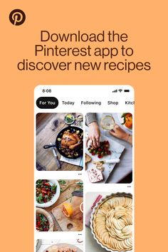 Learn a new recipe to treat your whole household. Find inspired dishes on the Pinterest app.