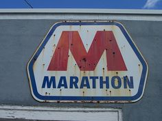 Vintage Gas Station Signs | Old Marathon Gas Station Sign | Flickr - Photo Sharing!