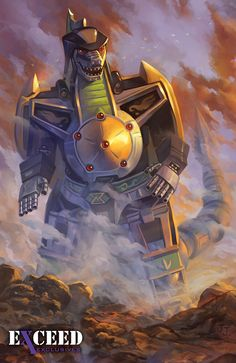Dragon Zord by Nick Robles