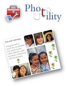 PhotoSheet - Photility ... A free application for printing photos at custom sizes or in collage style sheets for calendars or framing. #ProjectLife #365 #scrapbooking http://www.photility.com/