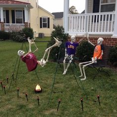 49 Wonderful Diy Outdoor Halloween Decor For Your Frontyard Halloween Outside, Halloween Camping, Homemade Halloween, Holidays Halloween, Halloween Stuff, Halloween Party, Halloween Crafts, Halloween 2018, Halloween Yard Ideas