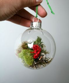 Decorating Glass Ball Ornaments How To Make Christmas Ornaments With Clear Glass Balls  Ornament