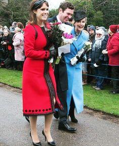 Princess Eugenie And Beatrice, Princess Kate, English Royal Family, British Royal Families, Duchess Of York, Duke And Duchess, Royal Christmas, Christmas Service, Royal Family Trees