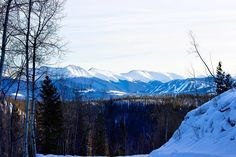 Embracing an afternoon detour. #winterparklife